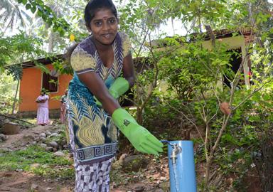Zugang zu Trinkwasser durch Brunnenbau