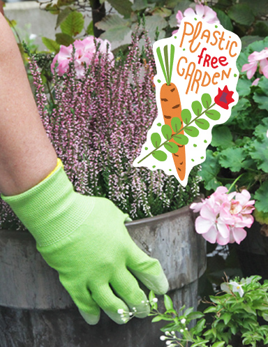 plastic free gardening