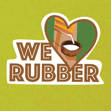 We love Rubber