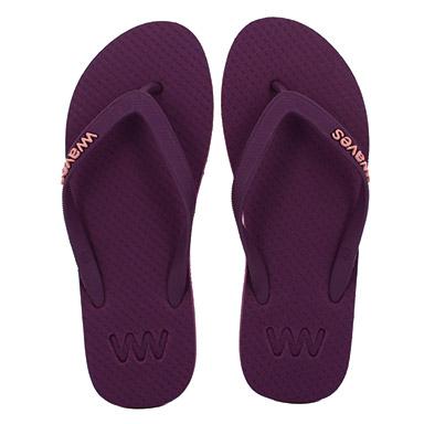 Waves purple
