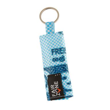 Schlüsselanhänger mit Pommesgabel