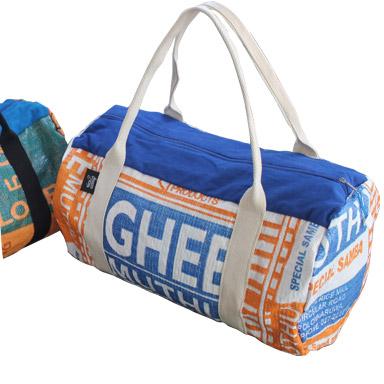 Reisetasche gepackt